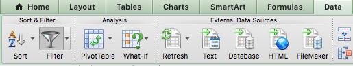 Excel - Ativar Filtro