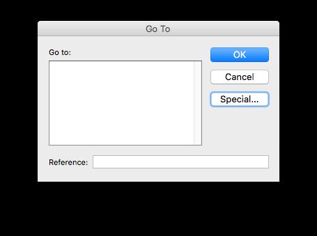 Como copiar somente células visíveis no Excel para Mac - Botõa Special